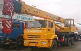 Автокран 25 тонн 28 метров