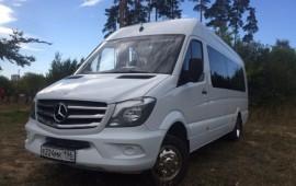 Аренда туристического Микроавтобуса 18-20м