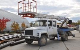 Аренда/услуги телескопической автовышки 17м
