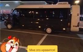 Микроавтобус от 7 до 17мест заказные перевозки