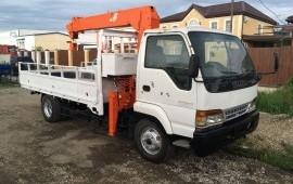 Услуги/аренда манипулятора-крана,перевозка грузов