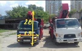 Услуги(аренда)автовышки 28 метров