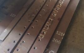Ножи отвала грейдера John Deere 672; 772; 872
