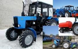 Трактор Беларус Щетка Ковш Отвал Бочка Бара