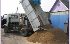 Песок любой,Пгс,щебень,отсев,гравий,Глина,Опилки