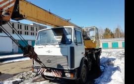 Автокран 14 тонн на базе маз