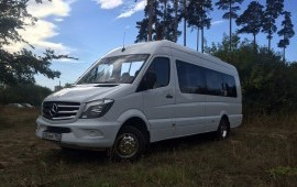 Заказ туристического Микроавтобуса 18-20м