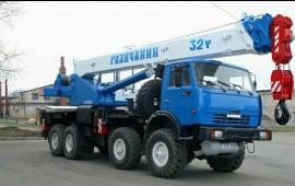 Автокран-32т. аренда*услуги*заказ ХМАО