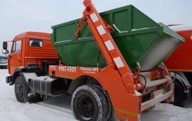Вывоз мусора контейнером 8 м3*ломовоз*самосвал