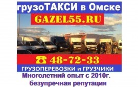 Грузоперевозки ГАЗЕЛЬ заказать услуги Омск 487233