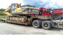 Перевозка грузов тралами и площадками