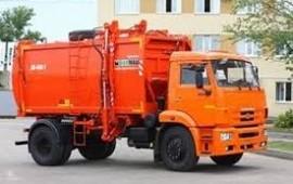 Аренда мусоровоз Камаз, Зил