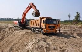 Перевозка инертных материалов по Ростову и области