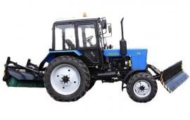 Аренда тракторов с щеткой и отвалом