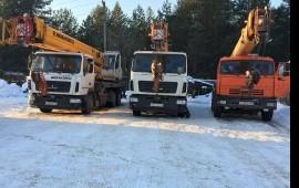 Автокран 25 тонн аренда услуги спецтехники