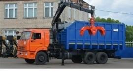 Ломовоз с грейфером услуги Свердловская область