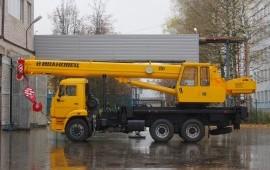 Кран 25 тонн аренда, услуги спецтехники