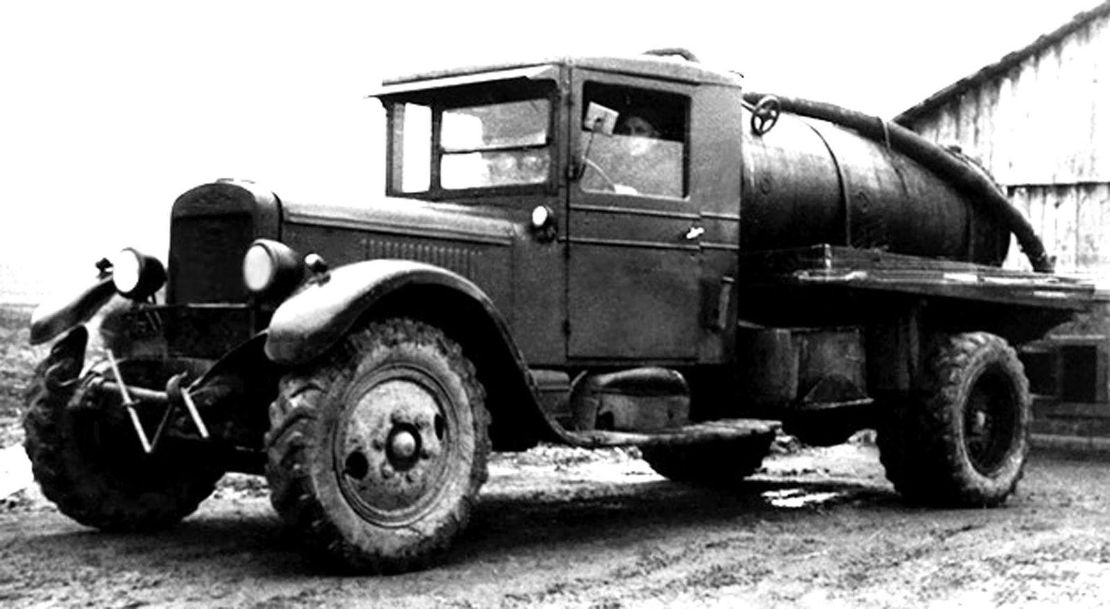 Послевоенный ассенизатор